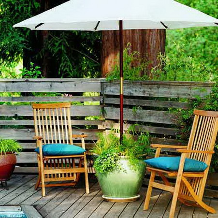wonderful solution for small patio design - Small Patio Design Ideas