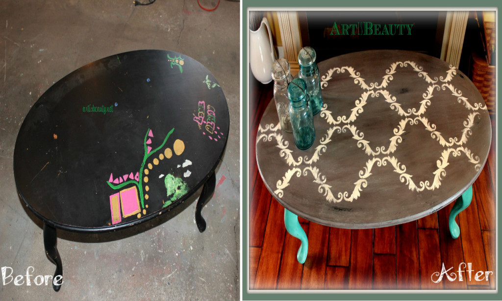 Another Coffee Table Makeover