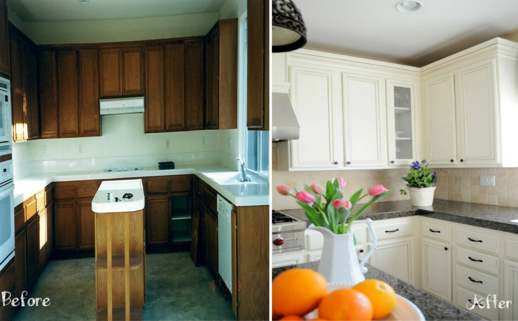 Custom Kitchen Cabinets Makeover