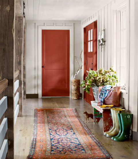 Rustic Lake House Decorating Ideas: 10 Stylish Hallway Decorating Ideas