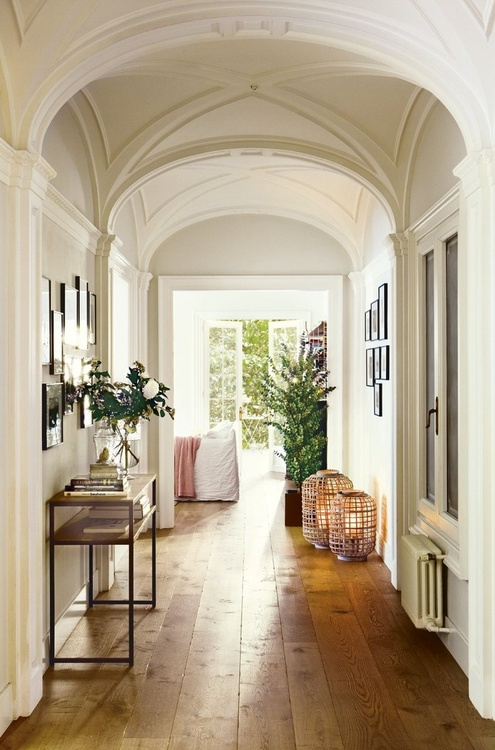More Greenery In Hall Decorating Ideas!