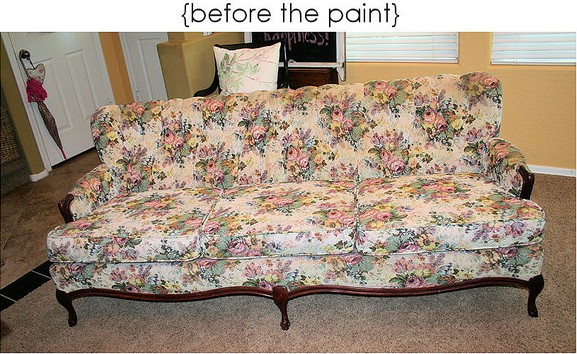 Redoing a Couch Idea