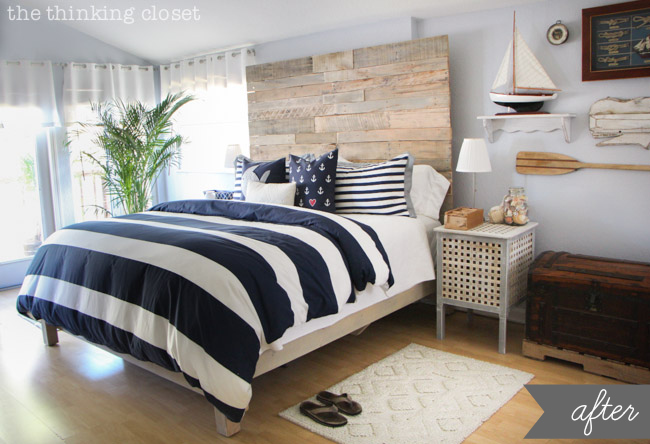 Rustic Master Bedroom Makeover1