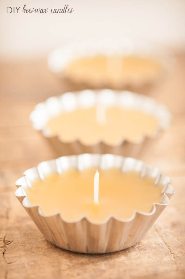 Beeswax Tart Candles1