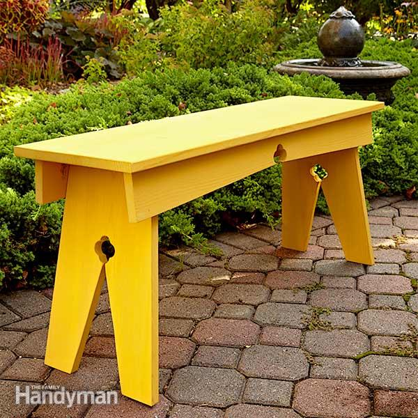 Garden and outdoor bench plans you will love to build