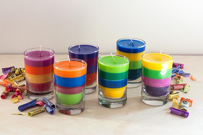 Hued Candles