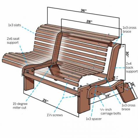 39 diy garden bench plans you will love to build home and
