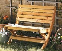 Tailgate Garden Bench