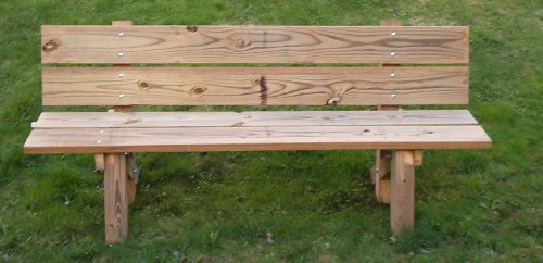 Plans For Building Trail Side Bench