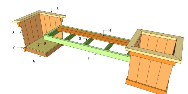 39 Diy Garden Bench Plans You Will Love To Build Home And Rh Hngideas Com