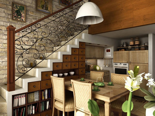 Extra Room understairs & 25 Clever Under Stairs Ideas to Optimize the Leftover Space \u2013 Home ...
