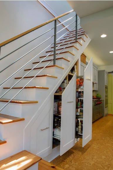 Transitional Staircase idea