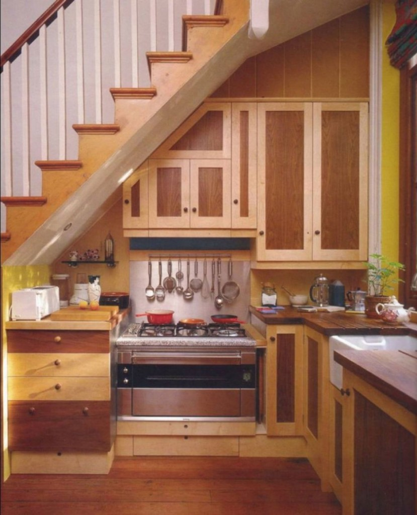 Under Stairs Kitchen
