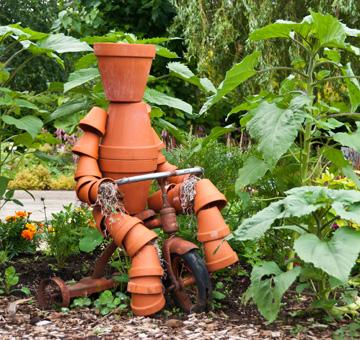 Clay Pot Man