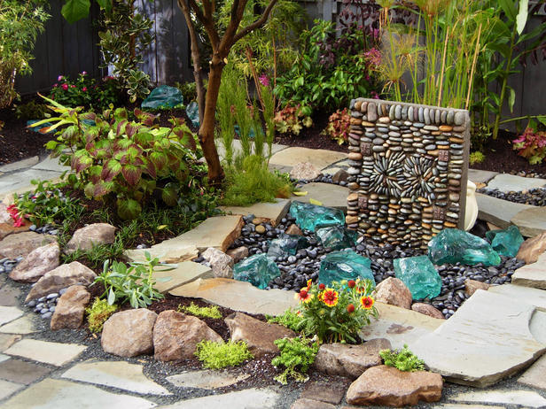 Faux Stone Water Feature