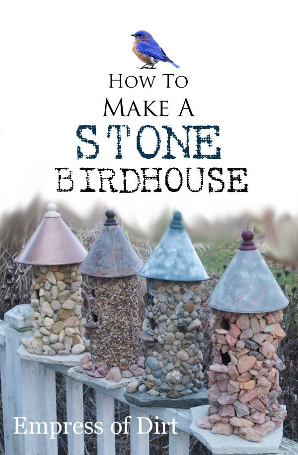 Stone Birdhouse Ideas
