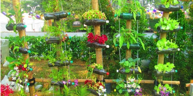 Garden art and decor home and gardening ideas for Garden decoration ideas