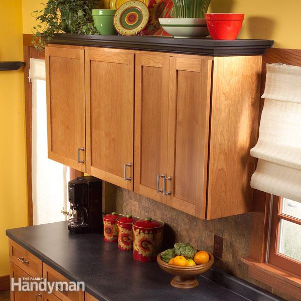 Cabinet Top Shelves