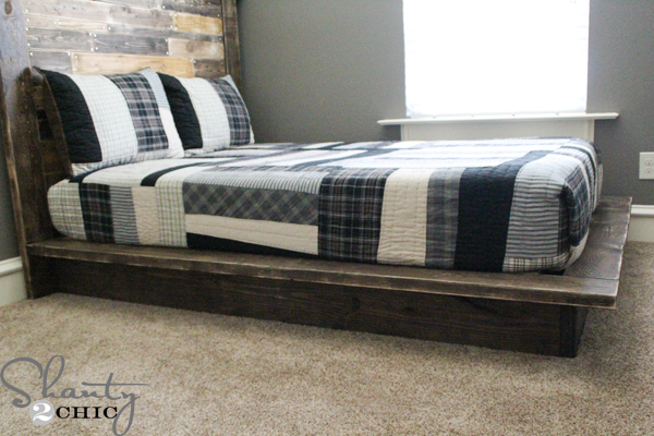 15 DIY Platform Beds That Are Easy To Build – Home and Gardening Ideas-Home design, Decor ...