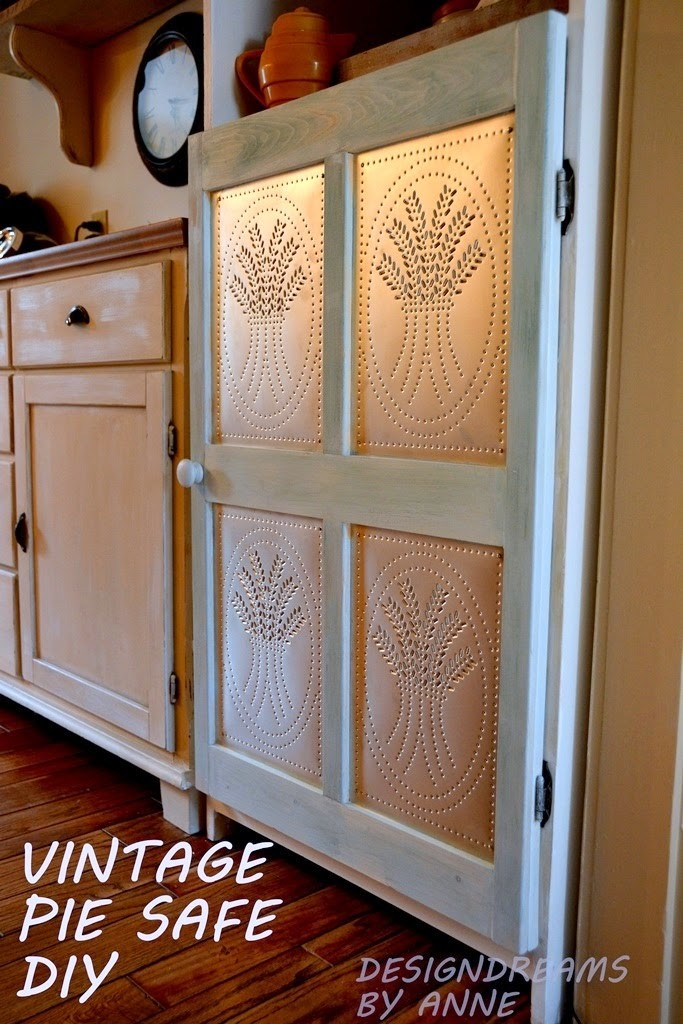 Pie Safe Cabinet Décor