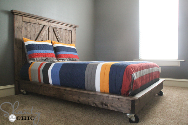 King Sized Platform Bed