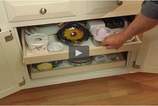 Pull-Out Kitchen Cabinet Shelves