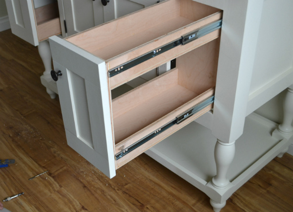 6: Under Cabinet Drawers U2013 $150 Plan