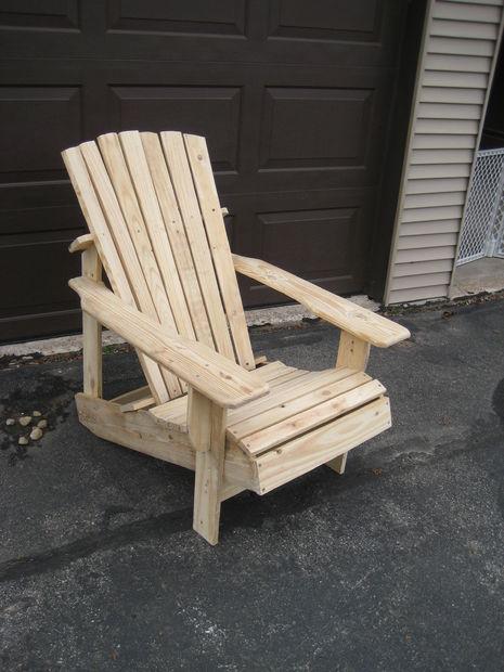 Reclaimed Lumber Adirondack