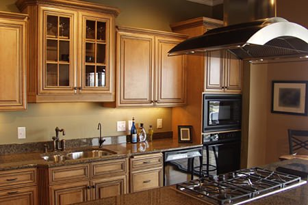 Wooden DIY Cabinets For Kitchen