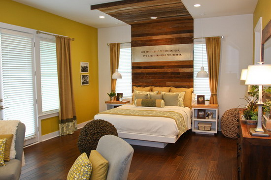Contemporary Style master bedroom