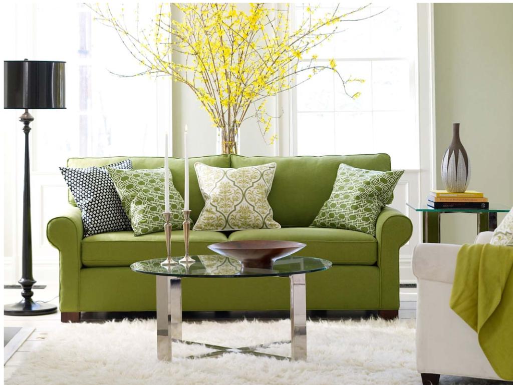 Divine Green living room