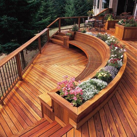 Deck Design Ideas 17 amazing covered deck design ideas to inspire you Garden Decking Designs