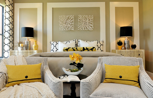 pops of color - Master Bedroom Decorating