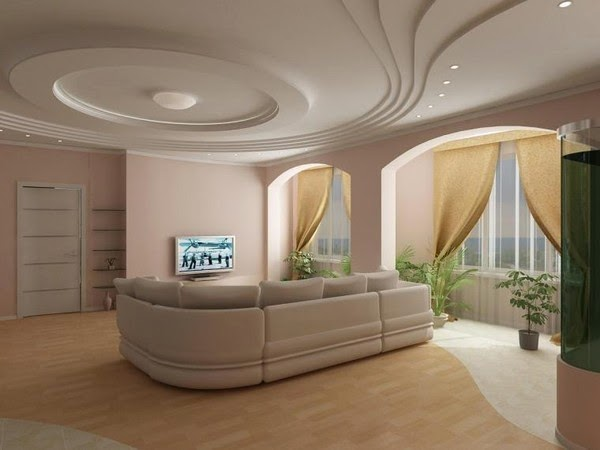 Textured False White Ceilings. 25 Elegant Ceiling Designs For Living Room   Home And Gardening Ideas