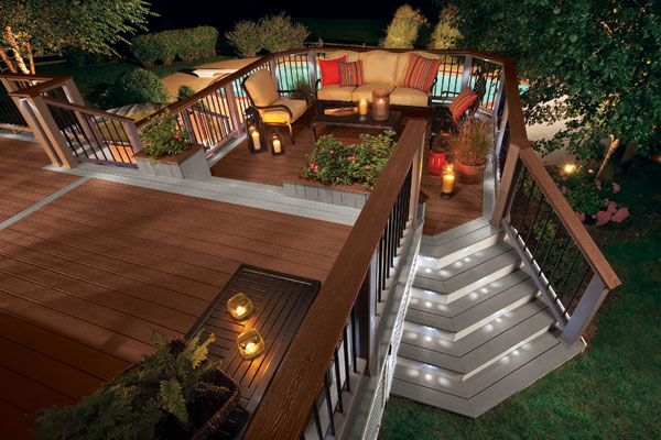 22 Deck Design Ideas To Create a Fabulous Outdoor Living ... on Back Garden Decking Ideas id=77282