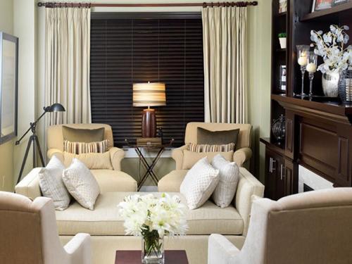 living room as guest inn