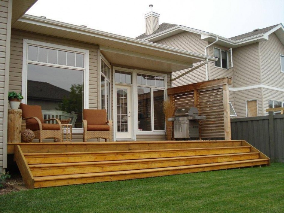 22 Deck Design Ideas To Create a Fabulous Outdoor Living ... on Back Deck Designs For Houses id=35303