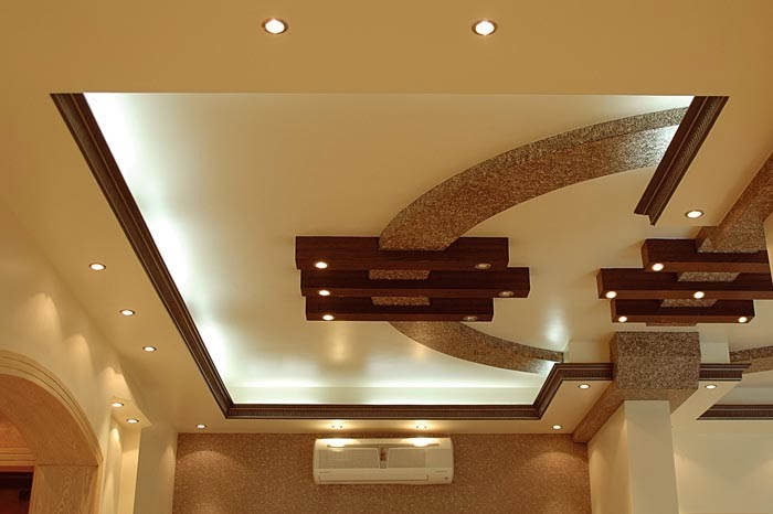 stylish ceiling for a luxury room - Living Room Ceiling Design Ideas