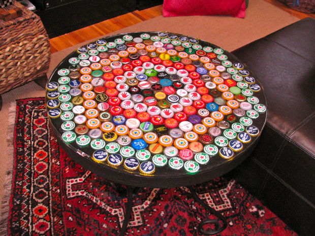 Bottle Cap Table Top