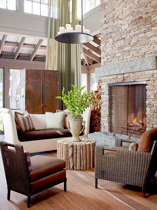 Firelight For Living Room