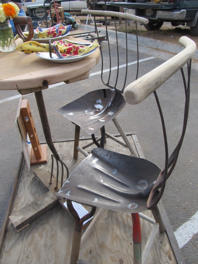 Garden Tool Table and Chairs