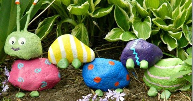 25 Fun Loving Garden Art Ideas By Upcycling Household Items