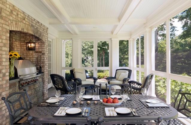 screened porch idea