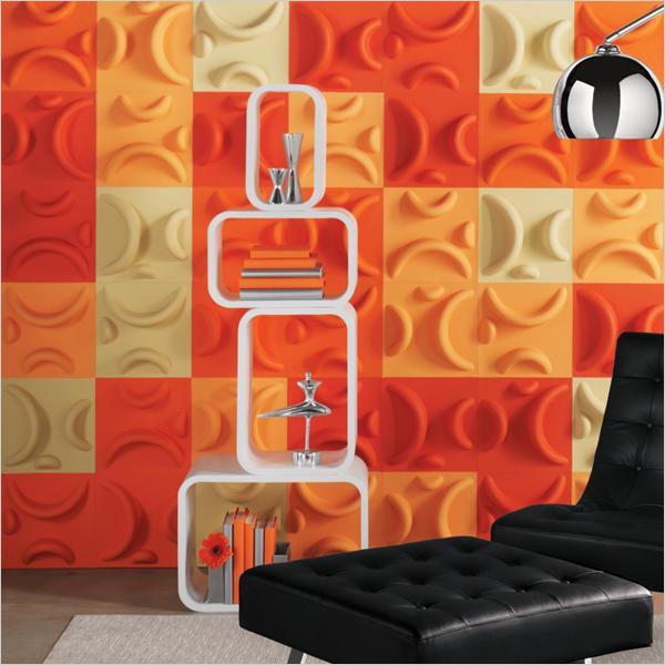 3-D wall art