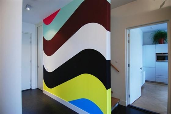 Wall Paint Design For Any Room Chevron Pattern