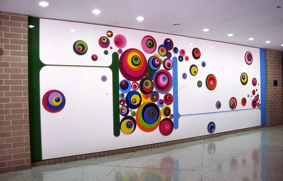 30 wall painting ideas a brilliant way to bring a touch of for Abstract decoration