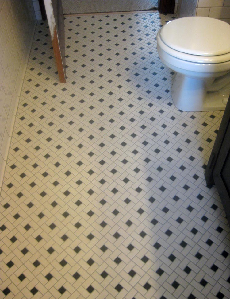 Bathroom Floor Design Idea