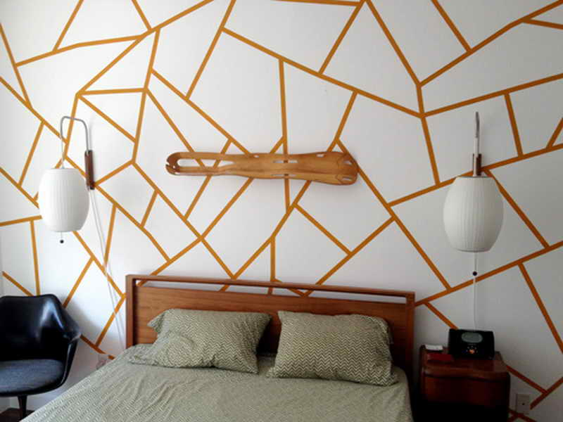 Geometric Easy Wall Art Painting Ideas