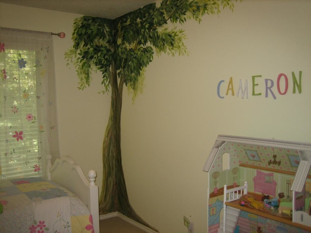 Simple bedroom wall paint designs - Kids Bedroom