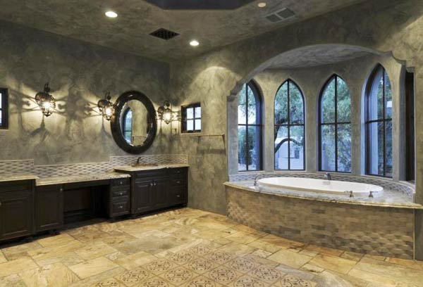 the color coordinated tiles - Tile Bathroom Designs